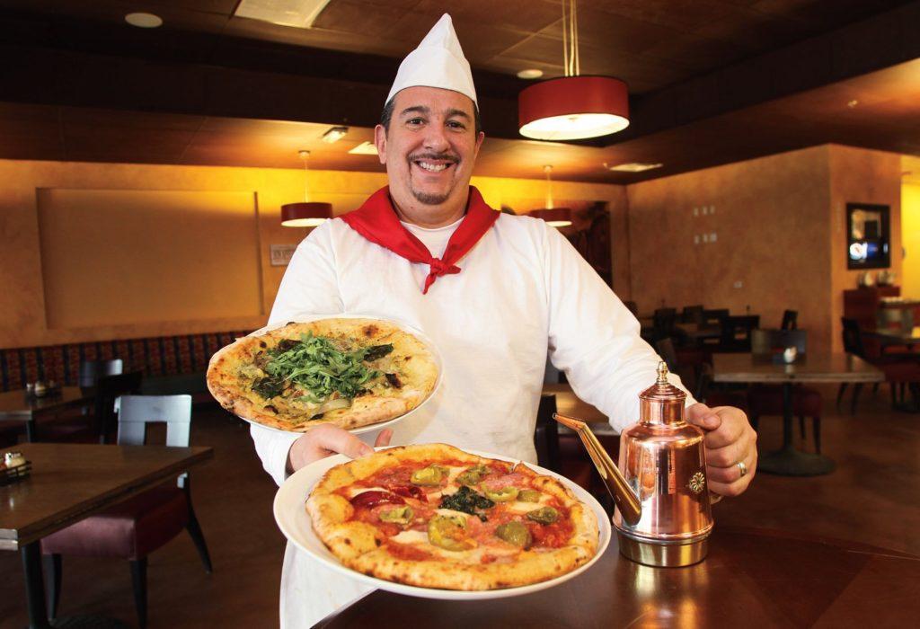 Pizza szakács